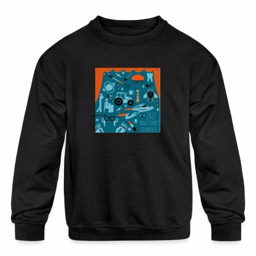 Rant Street Swag - Kids' Crewneck Sweatshirt