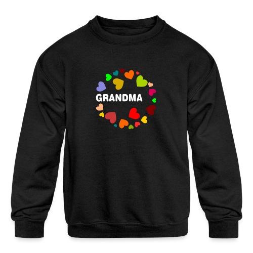 Grandma - Kids' Crewneck Sweatshirt