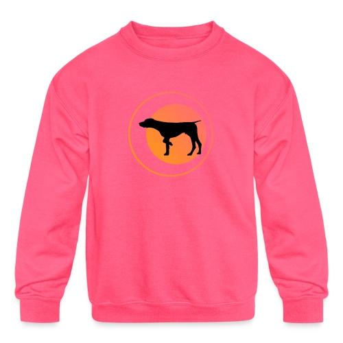 German Shorthaired Pointer - Kids' Crewneck Sweatshirt