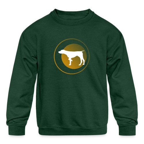 German Shorthaired Pointer - Kids' Crewneck Sweatshirt