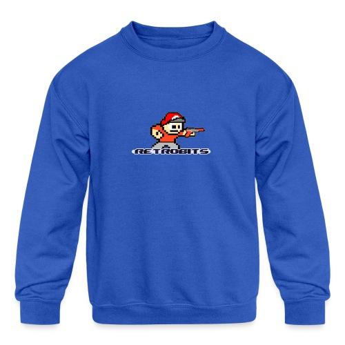 RetroBits Clothing - Kids' Crewneck Sweatshirt
