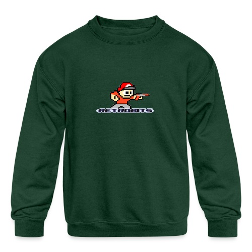 RetroBits Clothing - Kids' Crewneck Sweatshirt