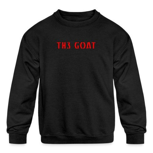 GREEK GOAT - Kids' Crewneck Sweatshirt