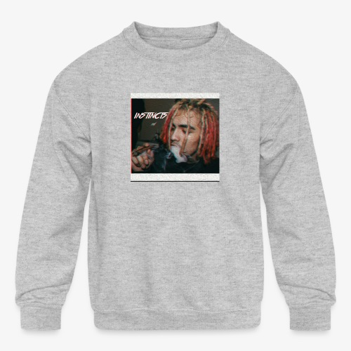 Instincts signature Shirt. Limited Edition - Kids' Crewneck Sweatshirt