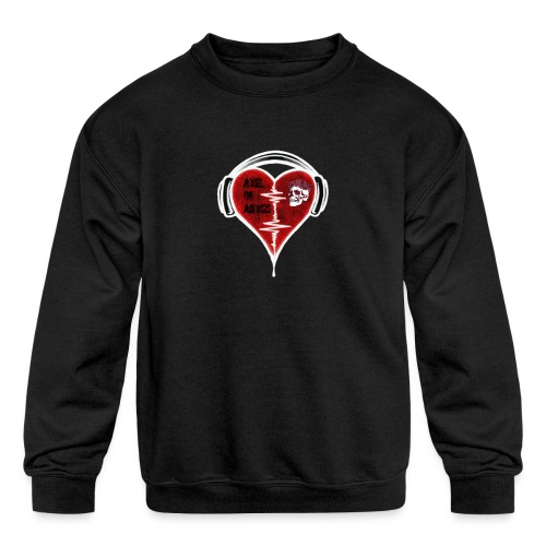 Axelofabyss Music in your heart - Kids' Crewneck Sweatshirt