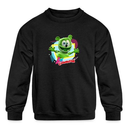 Shapes & Colors - Kids' Crewneck Sweatshirt