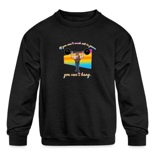 Jean Jockey - Kids' Crewneck Sweatshirt