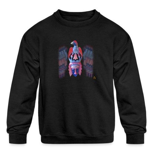 Acro Aztec - Kids' Crewneck Sweatshirt