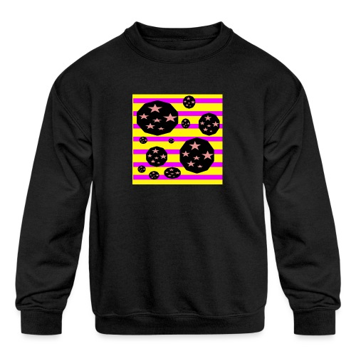 Lovely Astronomy - Kids' Crewneck Sweatshirt