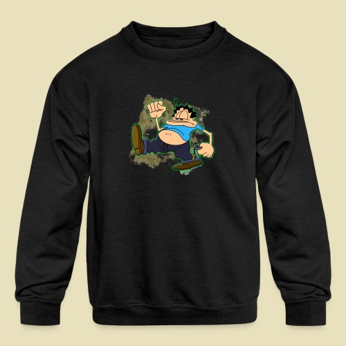 Ongher's UFO Ongher March - Kids' Crewneck Sweatshirt