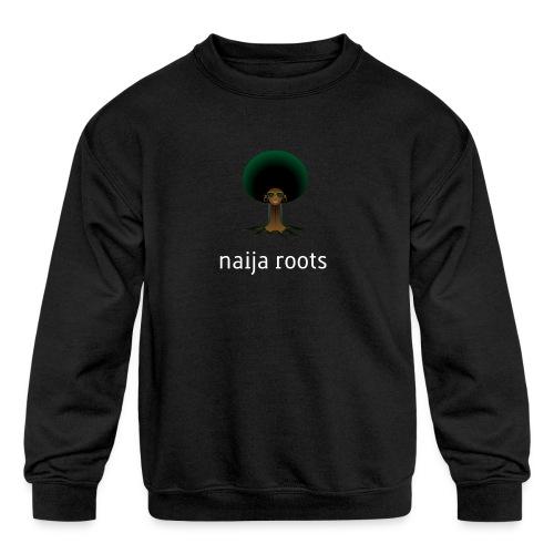 naijaroots - Kids' Crewneck Sweatshirt