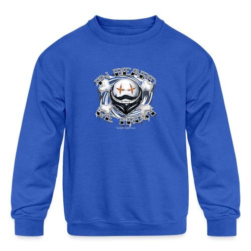 in beard we trust - Kids' Crewneck Sweatshirt