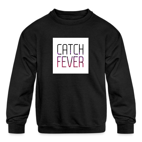 CATCH FEVER 2017 LOGO - Kids' Crewneck Sweatshirt