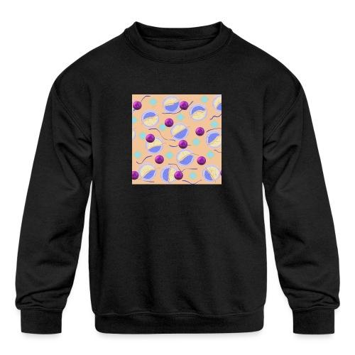 lovely cosmos - Kids' Crewneck Sweatshirt