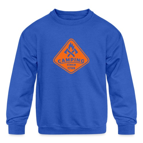 Campfire - Kids' Crewneck Sweatshirt