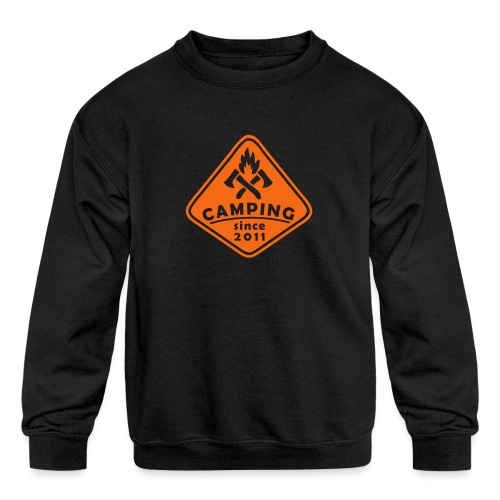 Campfire 2011 - Kids' Crewneck Sweatshirt