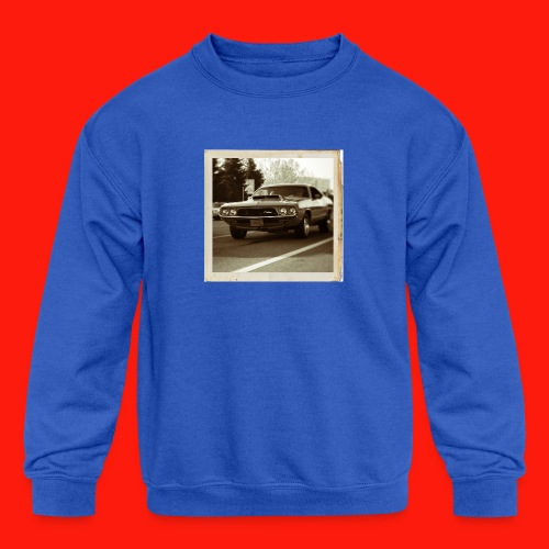 charger Kids' Shirts - Kids' Crewneck Sweatshirt