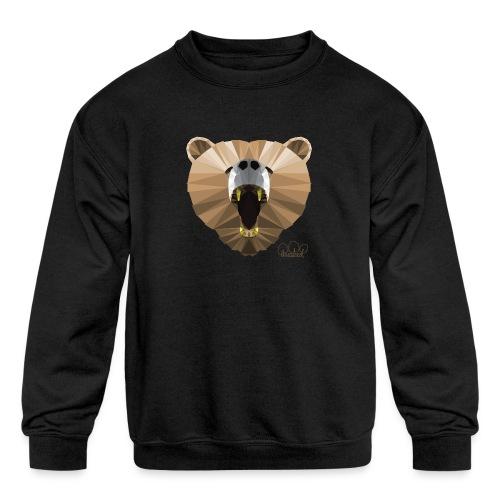 Hungry Bear Women's V-Neck T-Shirt - Kids' Crewneck Sweatshirt