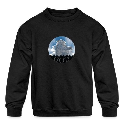 Dog is God - Kids' Crewneck Sweatshirt