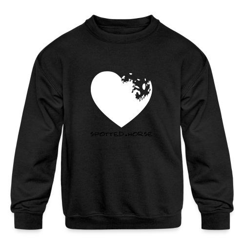 Appaloosa Heart - Kids' Crewneck Sweatshirt