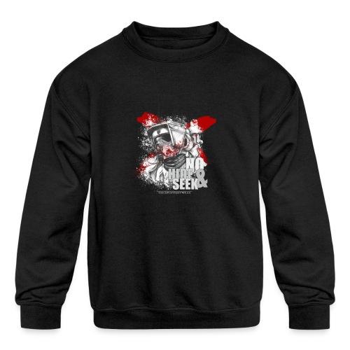 No hide & Seek - Kids' Crewneck Sweatshirt