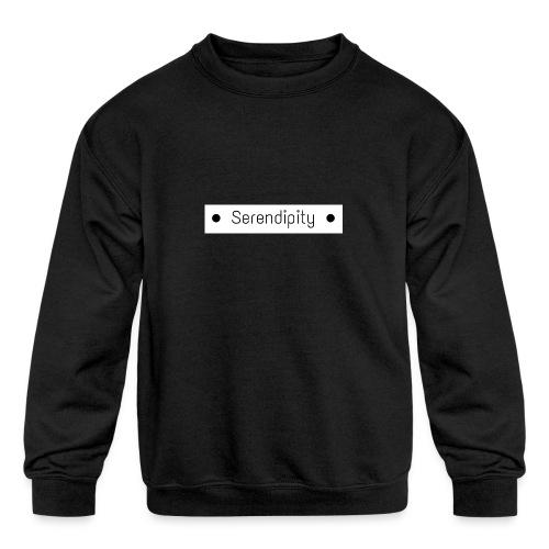 Serendipity - Kids' Crewneck Sweatshirt