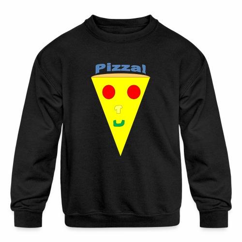 pizzalogo - Kids' Crewneck Sweatshirt