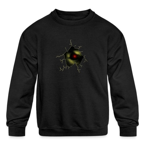 Broken Egg Dragon Eye - Kids' Crewneck Sweatshirt