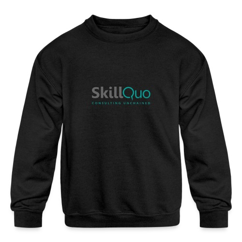 Consulting Unchained - Kids' Crewneck Sweatshirt