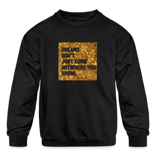 dreamy designs - Kids' Crewneck Sweatshirt