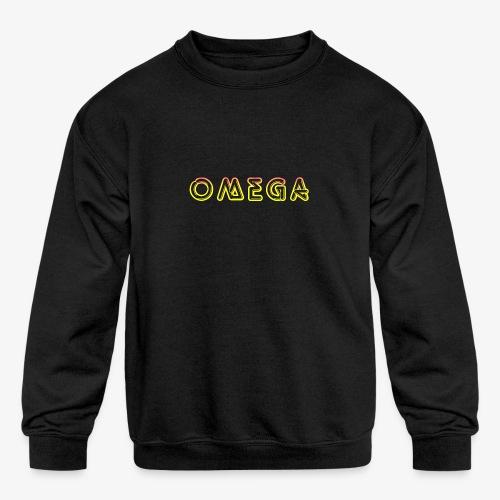 Omega - Kids' Crewneck Sweatshirt