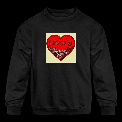 DE1E64A8 C967 4E5E 8036 9769DB23ADDC - Kids' Crewneck Sweatshirt