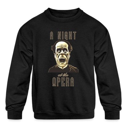 A Night at the Opera - Kids' Crewneck Sweatshirt
