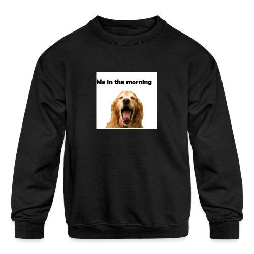 doggo - Kids' Crewneck Sweatshirt