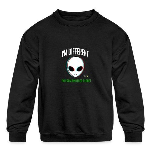 I'm different - Kids' Crewneck Sweatshirt