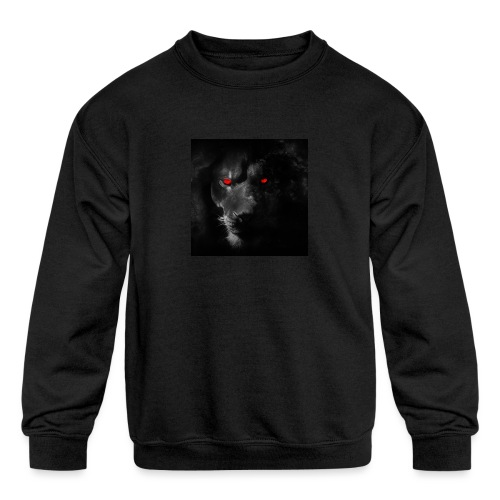 Black ye - Kids' Crewneck Sweatshirt