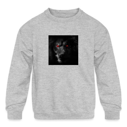 Black ye - Kids' Crewneck Sweatshirt