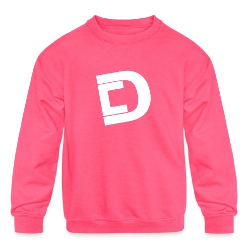 DrewskysChannel Youtube Logo - Kids' Crewneck Sweatshirt