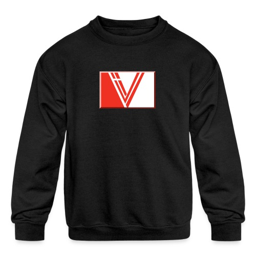 LBV red drop - Kids' Crewneck Sweatshirt