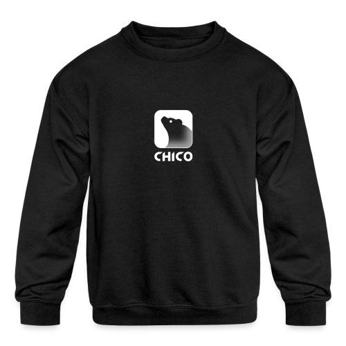 Chico's Logo with Name - Kids' Crewneck Sweatshirt