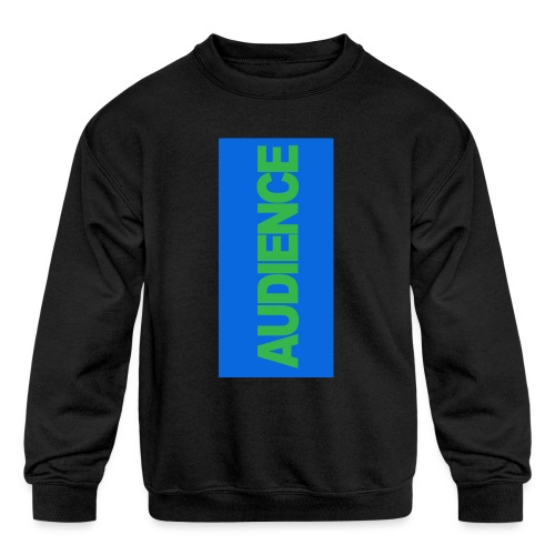 audiencegreen5 - Kids' Crewneck Sweatshirt