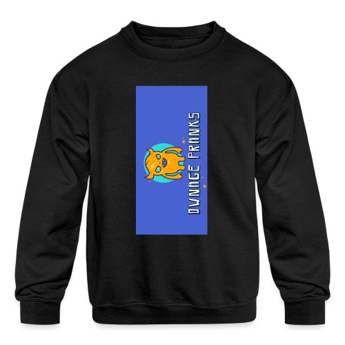 logo iphone5 - Kids' Crewneck Sweatshirt