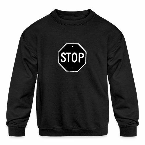 Stop 1 - Kids' Crewneck Sweatshirt