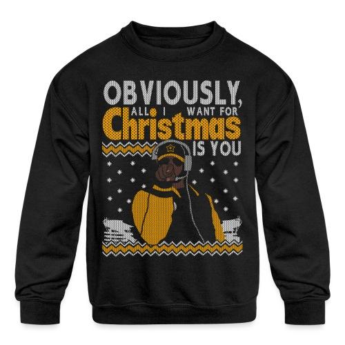 2018_all I want - Kids' Crewneck Sweatshirt