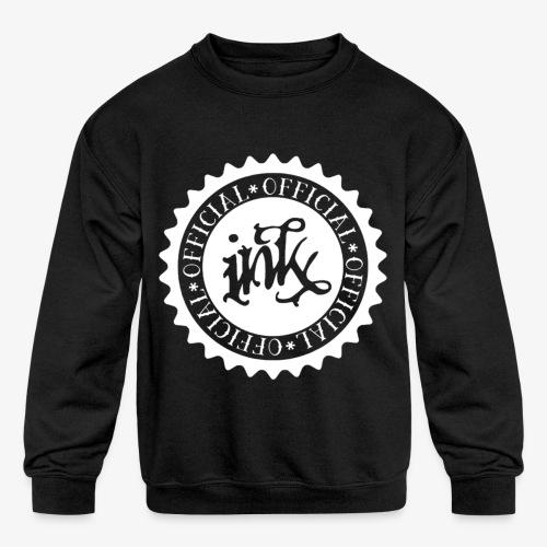 official white - Kids' Crewneck Sweatshirt