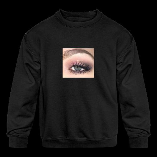 eyeball shirt - Kids' Crewneck Sweatshirt