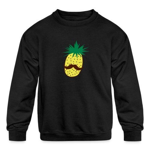 LUPI Pineapple - Kids' Crewneck Sweatshirt
