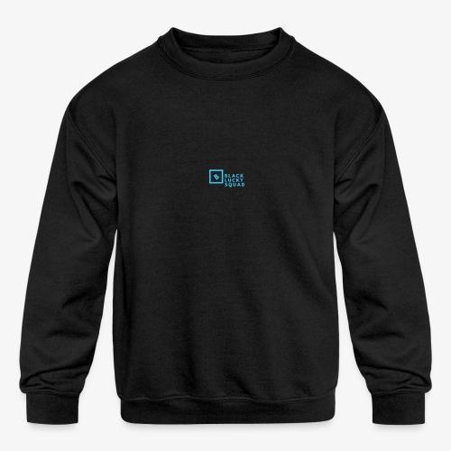 Black Luckycharms offical shop - Kids' Crewneck Sweatshirt