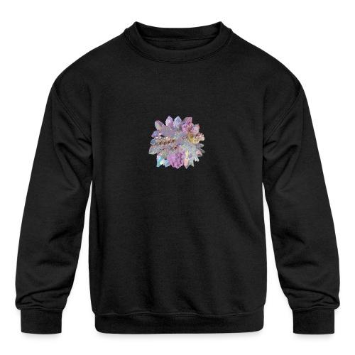 CrystalMerch - Kids' Crewneck Sweatshirt