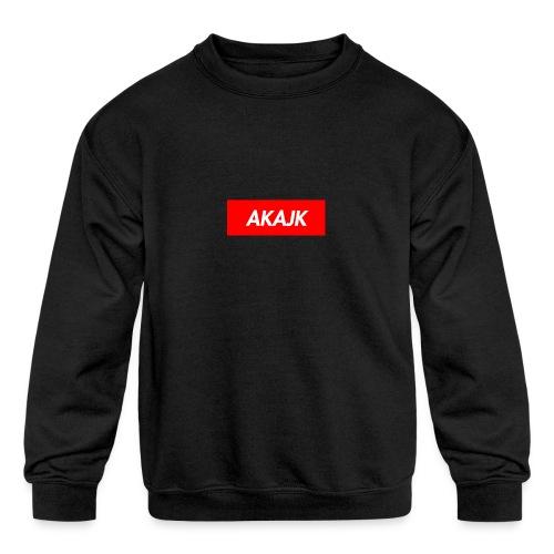 AKAJK - Kids' Crewneck Sweatshirt
